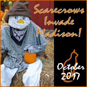 Scarecrows Invade Madison! @ Downtown Madison CT